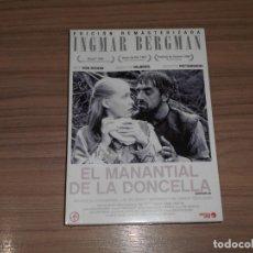 Cine: EL MANANTIAL DE LA DONCELLA EDICION ESPECIAL DVD + DOCUMENTAL + LIBRO INGMAR BERGMAN PRECINTADA. Lote 195388685