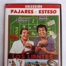Cine: DVD - LOS LIANTES - FERNANDO ESTESO, ANDRES PAJARES, MARIANO OZORES. Lote 151940982