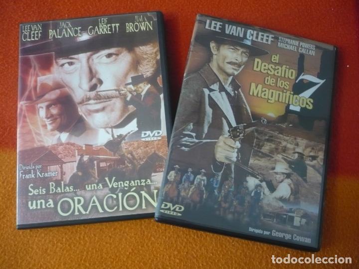 SEIS BALAS UNA VENGANZA UNA ORACION + EL DESAFIO DE LOS 7 MAGNIFICOS ( VAN CLEEF ) DVD OESTE WESTERN (Cine - Películas - DVD)