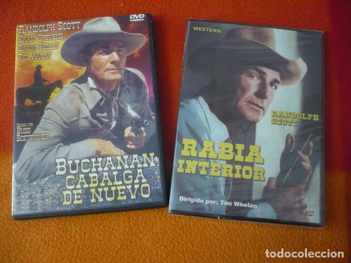 BUCHANAN CABALGA DE NUEVO + RABIA INTERIOR ( RANDOLPH SCOTT ) DVD OESTE WESTERN (Cine - Películas - DVD)