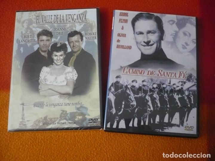 EL VALLE DE LA VENGANZA ( LANCASTER ) + CAMINO DE SANTA FE ( ERROL FLYNN ) DVD WESTERN OESTE (Cine - Películas - DVD)