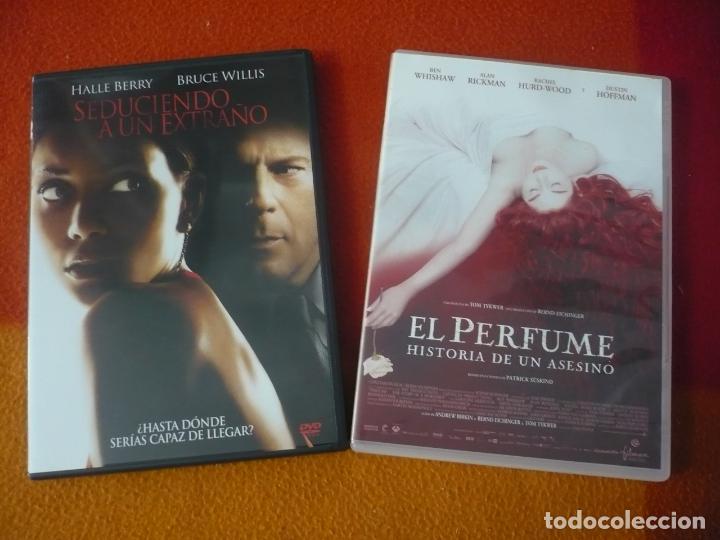 EL PERFUME HISTORIA DE UN ASESINO + SEDUCIENDO A UN EXTRAÑO ( BERRY WILLIS ) DVD (Cine - Películas - DVD)