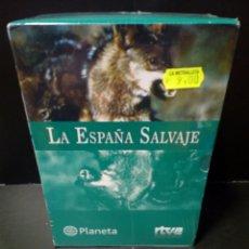 Cine: LA ESPAÑA SALVAJE DVD DOCUMENTAL. Lote 152142012