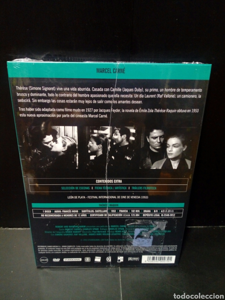 Cine: Therese raquin DVD Filmoteca Fnac - Foto 2 - 152143965
