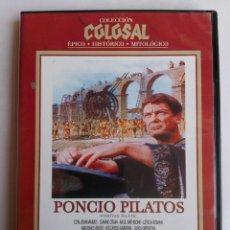 Cine: DVD - PONCIO PILATOS - JEAN MARAIS, GIANNI GARKO, GIAN PAOLO CALLEGARI - PEPLUM. Lote 152162490