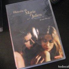 Cine: HISTORIA DE MARIE Y JULIEN (2003) - JACQUES RIVETTE - DESCATALOGADO - DVD. Lote 152055338