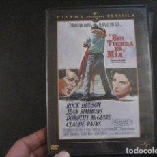 Cine: ESTA TIERRA ES MIA DVD ROCK HUDSON DVD. Lote 152057014