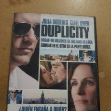 Cine: (S109) DUPLICITY - DVD SEGUNDAMANO. Lote 152234224