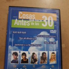 Cine: (S109) COSAS QUE HACER ANTES DE LOS 30 - DVD SEGUNDAMANO. Lote 152234293