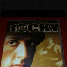 Cine: DVD ROCKY III. Lote 152332728