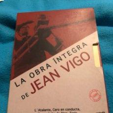 Cine: OBRA ÍNTEGRA DE JEAN VIGO 2 DVDS DESCATALOGADOS. Lote 152391918