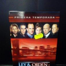 Cine: LEY & ORDEN : UNIDAD DE VÍCTIMAS ESPECIALES- PRIMERA TEMPORADA DVD. Lote 152443370