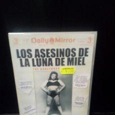 Cine: LOS ASESINOS DE LA LUNA DE MIEL DVD. Lote 152446125
