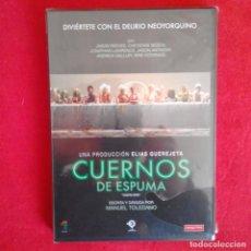Cine: CUERNOS DE ESPUMA. MANUEL TOLEDANO (PRECINTADA) PRODUCE ELIAS QUEREJETA. Lote 152515710