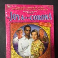 Cine: LA JOYA DE LA CORONA SERIE COMPLETA EDICION ESPECIAL REMASTERIZADA 5 DVD PRECINTADA A ESTRENAR. Lote 152584362