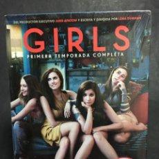 Cine: DVD GIRLS PRECINTADA PRIMERA TEMPORADA COMPLETA A ESTREMAR LENA DUNHAM ALLISON WILLIAMS. Lote 152584430