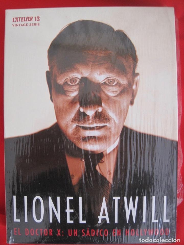 LIONEL ATWILL BOX--EL DOCTOR X UN SADICO EN HOLLYWOOD --L'ATELIER 13 VINTAGE--LIBRETO-- 3 DVD (Cine - Películas - DVD)