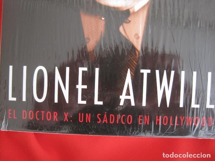 Cine: LIONEL ATWILL BOX--EL DOCTOR X UN SADICO EN HOLLYWOOD --L'ATELIER 13 VINTAGE--LIBRETO-- 3 DVD - Foto 3 - 152675598