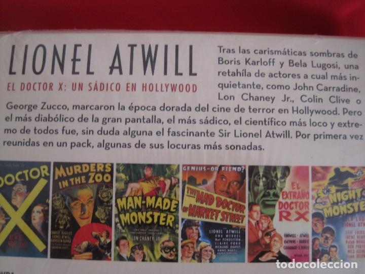 Cine: LIONEL ATWILL BOX--EL DOCTOR X UN SADICO EN HOLLYWOOD --L'ATELIER 13 VINTAGE--LIBRETO-- 3 DVD - Foto 7 - 152675598