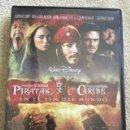 Cine: PIRATAS DEL CARIBE EN EL FIN DEL MUNDO DVD CON JOHNNY DEPP Y ORLANDO BLOOM. Lote 152681878