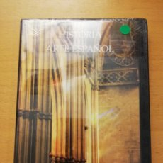 Cine: HISTORIA DEL ARTE ESPAÑOL. LA ÉPOCA DE LAS CATEDRALES. EL ESPLENDOR DEL GÓTICO (DVD PRECINTADO). Lote 152692406