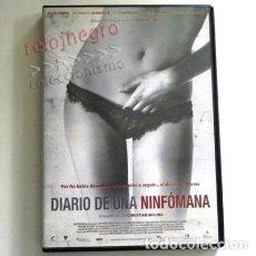 Cine: DIARIO DE UNA NINFÓMANA DVD PELÍCULA OBSESA SEXUAL FABRA SBARAGLIA MOLINA CHAPLIN ANTONIO OROZCO EXT. Lote 152753042