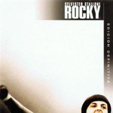 Cine: ROCKY SYLVESTER STALLONE EDICIÓN DEFINITIVA 2 DISCOS. Lote 152792906