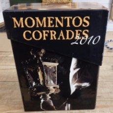 Cine: SEMANA SANTA SEVILLA, MOMENTOS COFRADES 2010, PACK 4 DVD, CON SU CAJA ORIGINAL. Lote 152799982