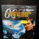 Cine: AL SERVICIO SECRETO DE SU MAJESTAD 007 DVD. Lote 161083186
