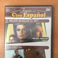 Cine: (B13) EL MEJOR ALCALDE DEL REY / FRAY ESCOBA - DVD NUEVO PRECINTADO. Lote 152877126