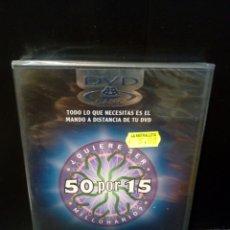 Cinéma: ¿QUIERE SER MILLONARIO? 50 X 15 DVD. Lote 153058926