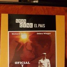 Cine: DVD. OFICIAL Y CABALLERO.. Lote 153064760