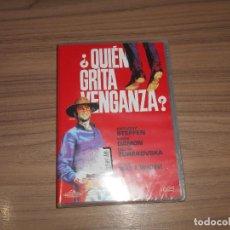 Cine: QUIEN GRITA VENGANZA ? DVD ANTHONY STEFFEN NUEVA PRECINTADA. Lote 161093856