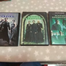 Cine: DVD. MATRIX + MATRIX RELOAD (2 DVDS) + MATRIX REVOLUTIONS (2 DVDS).. Lote 153070789