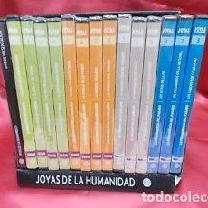Cine: JOYAS DE LA HUMANIDAD . 15 DVD. PLANETA. PRECINTADOS. Lote 153091246