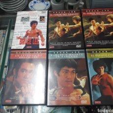 Cine: COLECCION BRUCE LEE DVD. Lote 153118100