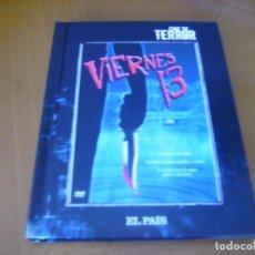 Cine: VIERNES 13 / TERROR DVD RARA EDICION DEL PAIS + LIBRO . Lote 153212166