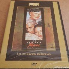 Cine - LAS AMISTADES PELIGROSAS / GANADORA 3 OSCARS / DVD - PRECINTADO. - 153349978