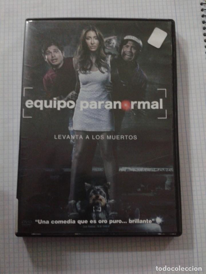 EQUIPO PARANORMAL. DVD (Cine - Películas - DVD)
