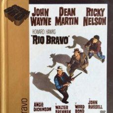 Cine: DVD. CINE DE ORO EL PAÍS VOL. II. LIBRO + DVD Nº 24 . RIO BRAVO. JOHN WAYNE. DEAN MARTIN.. Lote 290738758