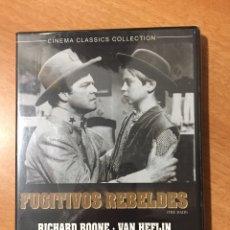 Cinéma: (B16) FUGITIVOS REBELDES - DVD NUEVO PRECINTADO. Lote 153481578