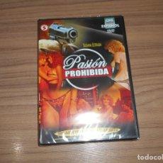 Cine: PASION PROHIBIDA DVD CINE EROTICO ESPAÑOL SUSANA ESTRADA NUEVA PRECINTADA. Lote 222289046