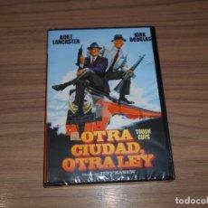 Cine: OTRA CIUDAD OTRA LEY DVD BURT LANCASTER KIRK DOUGLAS NUEVA PRECINTADA. Lote 211574719
