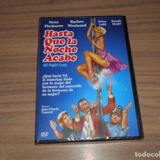 Cine: HASTA QUE LA NOCHE ACABE DVD GENE HACKMAN BARBRA STREISAND DENNIS QUAID NUEVA PRECINTADA. Lote 156093156