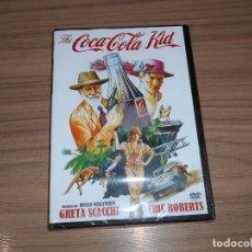 Cine: THE COCA COLA KID DVD ERIC ROBERTS NUEVA PRECINTADA. Lote 245891385