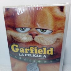 Cine: DVD GARFIELD LA PELÍCULA (CON NUMEROSOS EXTRAS Y LA VOZ DE CARLOS LATRE) PRECINTADA NUEVA A ESTRENAR. Lote 153686634