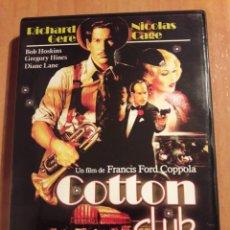 Cine: COTTON CLUB. DVD. . Lote 153724610