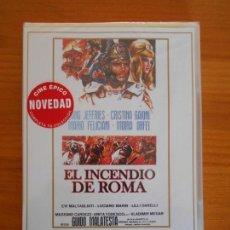 Cine: DVD EL INCENDIO DE ROMA - LANG JEFFRIES - CRISTINA GAIONI - NUEVA, PRECINTADA (AU). Lote 153805502