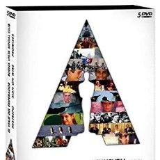 Cine: 5 DVD EL VIAJE DEL EMPERADOR - BUENAVISTA SOCIAL CLUB - RESTREPO - MAN ON WIRE - PROMISES PRECINTADA. Lote 194659250
