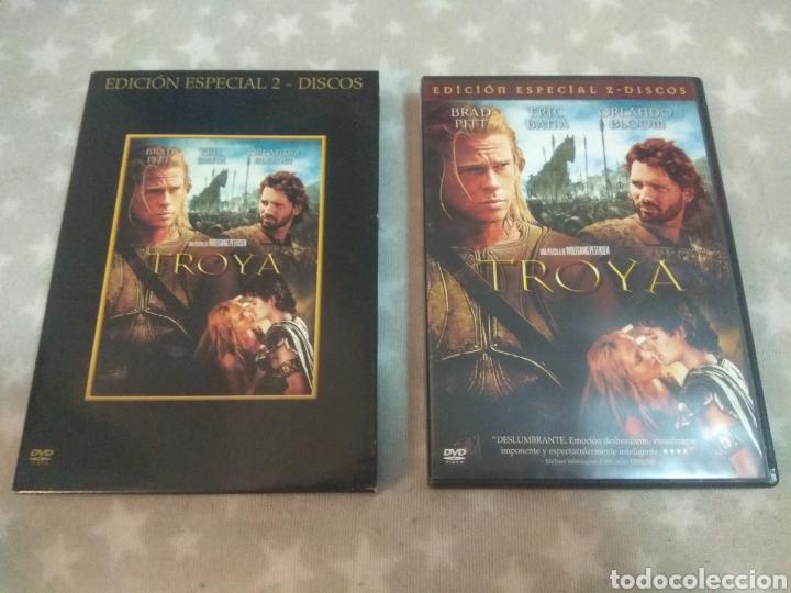 DVD. TROYA. EDICIÓN ESPECIAL. 2 DVDS. (Cine - Películas - DVD)